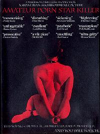 AMATEUR PORN STAR KILLER SATURDAY 29 MARCH - 6:15pm (R20) > Screen 2